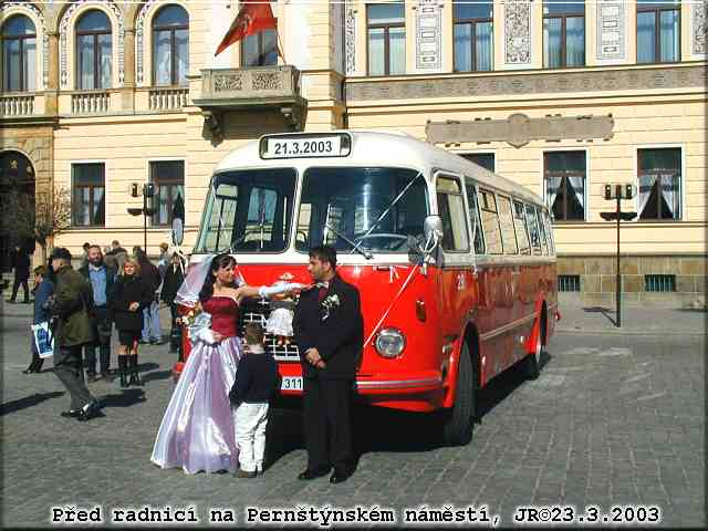 Svatebni Jizda Autobusu 28 Dne 21 3 2003